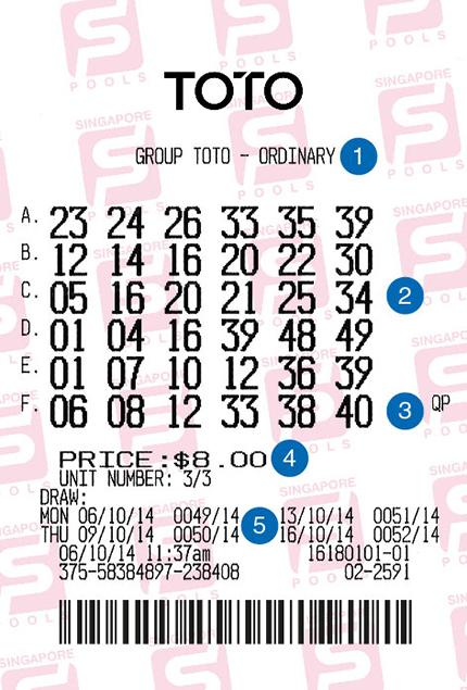 4d betting slip images